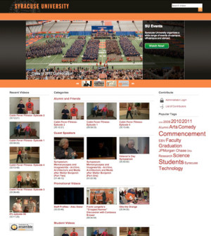 Syracuse University Video Showcase