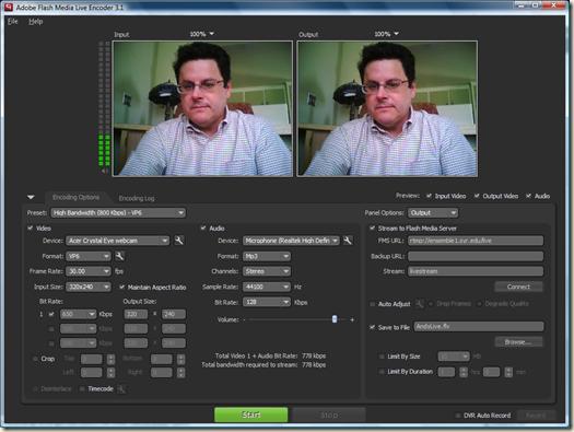 adobe flash media live encoder 3.1 free download
