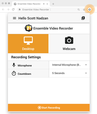 Ensemble-Video-Recorder