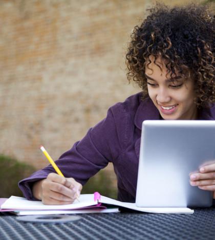 Student-Tablet-Female
