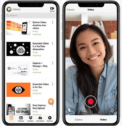 Ensemble Video App Preview